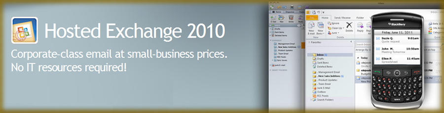 Powerful Corporate Class Email in Affordable, Flexible Packages - Hosted Exchange