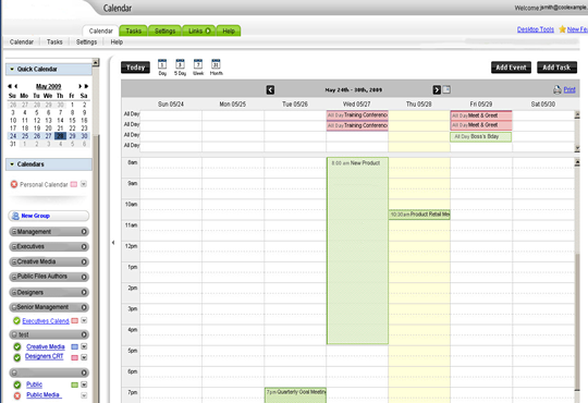 turning on and managing your multiple calendars view is a cinch