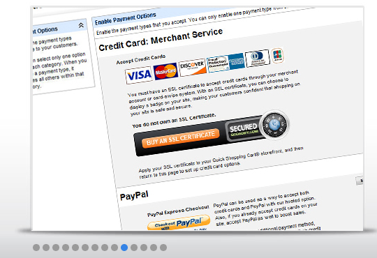 Increase sales by accepting all major credit cards with a merchant account