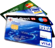 Accept all major credit, debit, and gift cards on your website
