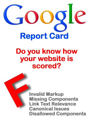 Website SEO issues degrade your sites rankings with search engines